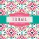 Digital Papers - Tribal Prints (DP3708)