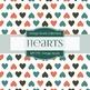 Digital Papers - Vintage Hearts (DP1773)