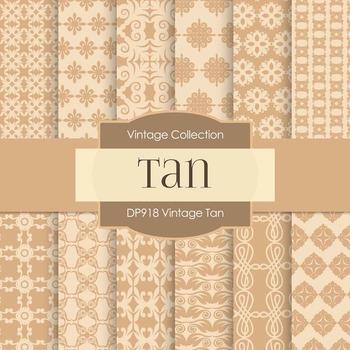 Digital Papers - Vintage Tan (DP918)