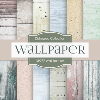 Digital Papers - Wall Textures (DP737)