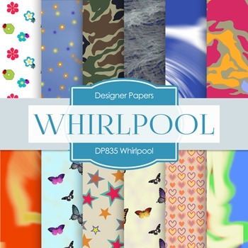 Digital Papers - Whirlpool (DP835)