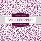 Digital Papers - Wild Purple (DP932)