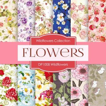 Digital Papers - Wildflowers(DP1008)