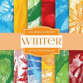 Digital Papers - Winter Breeze (DP1395)