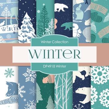 Digital Papers - Winter (DP4918)