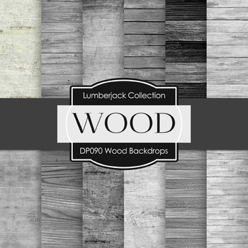 Digital Papers - Wood Backdrops (DP090)