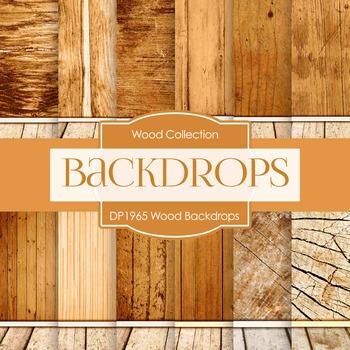 Digital Papers - Wood Backdrops (DP1965)