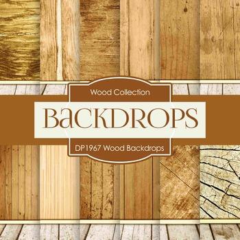 Digital Papers - Wood Backdrops (DP1967)