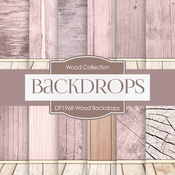 Digital Papers - Wood Backdrops (DP1968)