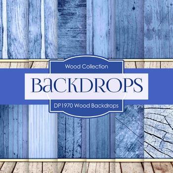 Digital Papers - Wood Backdrops (DP1970)