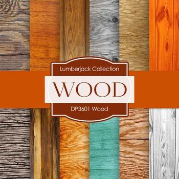 Digital Papers - Wood (DP3601)