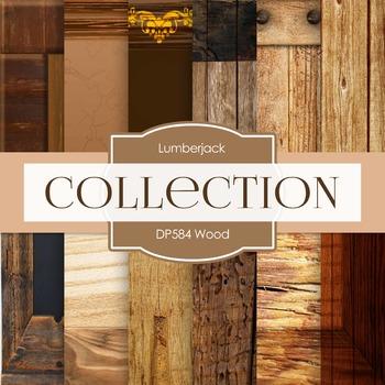 Digital Papers - Wood (DP584)