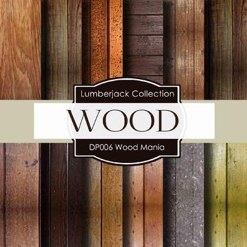 Digital Papers - Wood Mania (DP006)