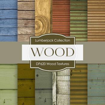 Digital Papers - Wood Textures B (DP620)