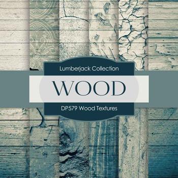 Digital Papers - Wood Textures (DP579)