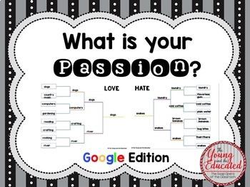 Digital Passion Project Bracket (Genius Hour)