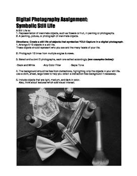 Digital Photography Assignment- Symbolic Still Life