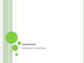 Digital Photography Rules of Composition