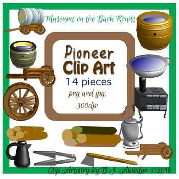 Digital Pioneer Clipart