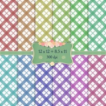 Digital Scrapbooking Paper Event Geometric Book 12x12 + 8.