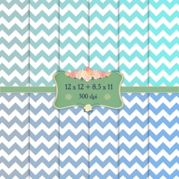 Digital Scrapbooking Paper Holiday Supplie Page Printable
