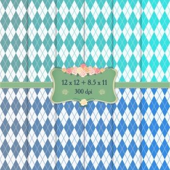 Digital Scrapbooking Paper Seamless Polka Art Pattern Circ