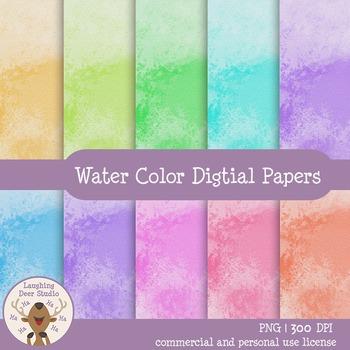 Digital Water Color Paper