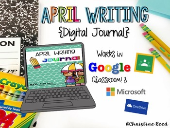 Digital Writing Journal-April