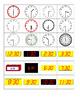 Digital and Analog Time Matching Game