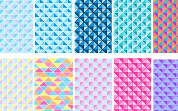 Digital paper, coloured backgrounds geometric shapes