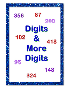 Digits & More Digits Worksheets