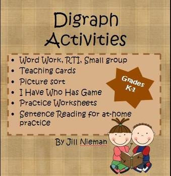 Digraph Word Work K-1