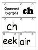 Digraph Beginning blend CH - Reading Literacy Center Flip Book