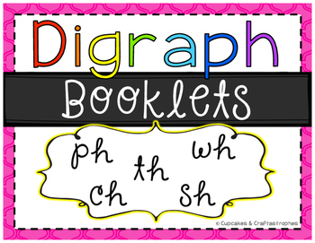 Digraph Booklets {{CH, SH, TH, WH, PH}}