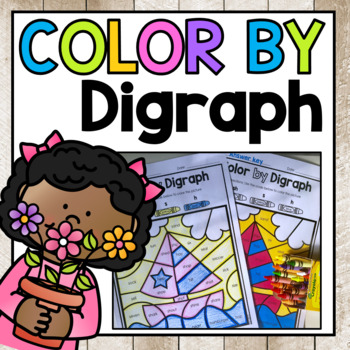 Ch Sh Th Wh Digraph Color By Code Worksheets