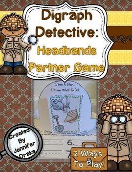 Digraph Detective: Headbands Partner Game for ID-ing Initi