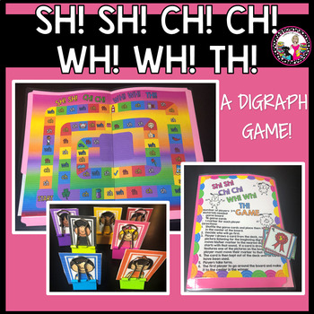 Digraph Game-Review of sh,ch,wh, and th!