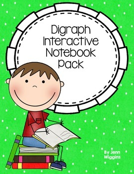 Digraph Interactive Notebook Pack
