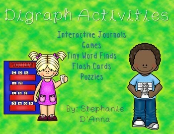 Digraph Interventions (Activities, Games and Interactive J