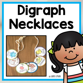 Digraph Necklace Activity (Ch, Sh, Th, Wh)