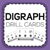 Digraph Phonics Decoding Drill Cards