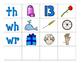 Digraph Pocket Chart Center:  Beginning and Ending Digraphs