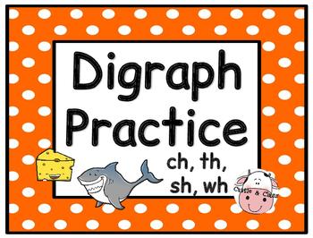 Digraph Practice Activities