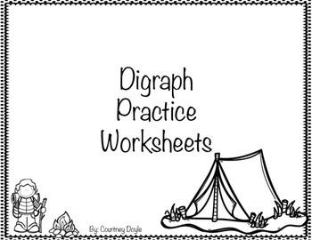 Digraph Practice Worksheets