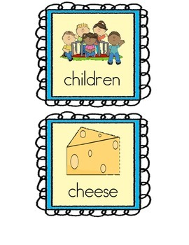 Digraph Read and Write The Room-ch, oo, sh, th, wh