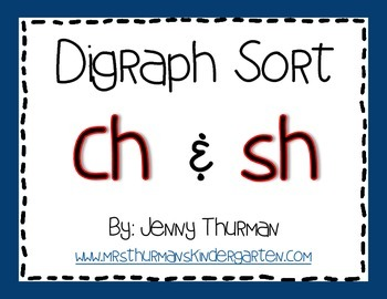 """Digraph Sort: """"Ch"""" and """"Sh"""""""