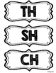 Digraph Sort: TH, CH, SH (Color & Blackline)