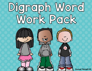Digraph Word Work Pack- RF.1.3