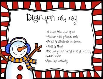 Digraph ai ay (winter edition)