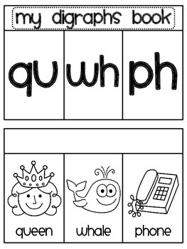Digraphs Book 2 (qu wh ph sounds)